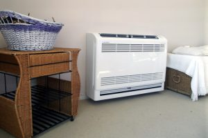 ductless-heat-pump-floor-unit